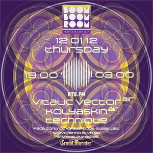 Vinyl set. RTS.FM. Kiev studio. January, 12/2012