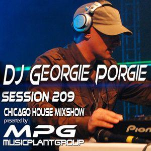 dj Georgie Porgie MPG Radio Show 209