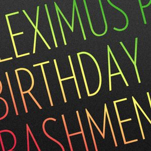 Fleximus Prime Birthday Bashment Mix
