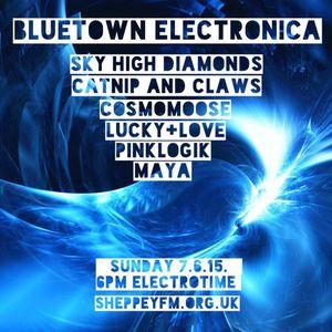 bluetown Electronica live show 7.6.15