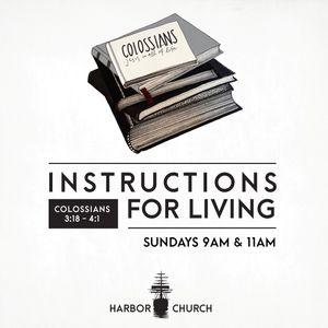 """Colossians #26 (3:20-21) """"Parents & Children"""""""