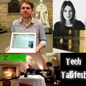 #TechTalkfest Adam Street Private Members Club, Wikipedai & the Natural History Museum - @z1radio