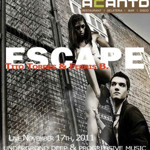 """""""Escape"""" Afterwork Live Nov 2011"""