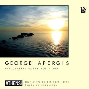 George Apergis_2011_Influential Muzik volume 1_ vinyl Mix