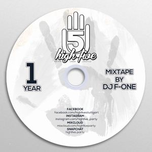 1 Year HIGH FIVE Anniversary Mixtape by DJ F-ONE