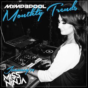 January Trends Mix 2019 - DJ MissNINJA