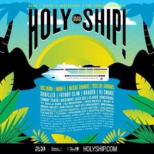 Basement Jaxx - Live @ Holy Ship! 2015 (USA) - 19.02.2015
