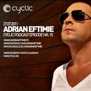 Cyclic Podcast Episode Nr 15 - Adrian Eftimie - 27.07.2011