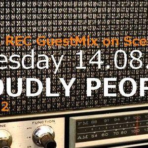 """Proudly People - Sceen.fm Guest Mix """"Yulia Records Showcase #02"""""""