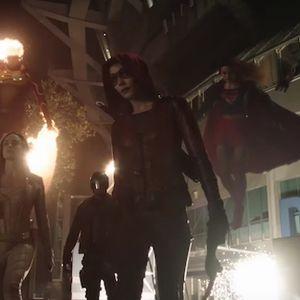 Supersized Super Tuesday Supergirl/Flash Crossover Recap
