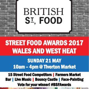 British Street Food Awards Heat Tiverton 2017