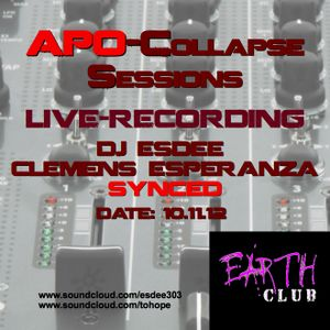 Apo-Collapse Sessions Earth Club (Clemens Esperanza & DJ EsDee)