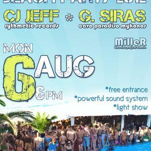 MilleR - 2012-08-06 Live @ Neromylos with Cj Jeff & G. Siras
