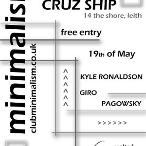 GIRO at Club Minimalism 19th May 2012