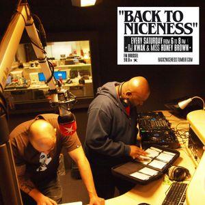Sean P on Back To Niceness Radio Show