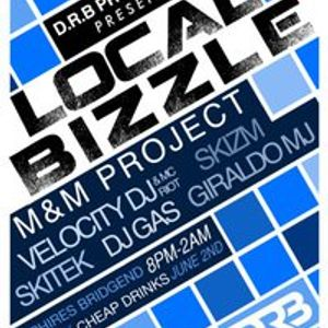 "Funk Rider X Tech-House/Techno Set From ""Local Bizzle"" Saphiers Bridgend 2nd June 2011"