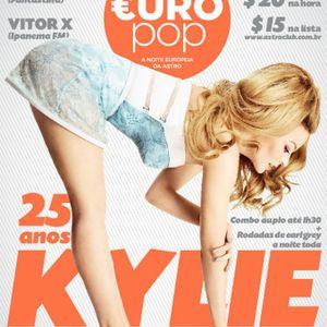 EUROpop - 25 anos KYLIE - 15/06