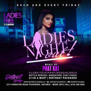 DISTRICT LOUNGE LADIES NIGHT MIX BY DJ PHAT KAT