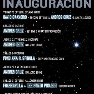 David Caaveiro - Live @ Inauguracion 7º Cielo Club (16-10-15) parte 1