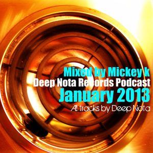Deep Nota Records Podcast January 2013