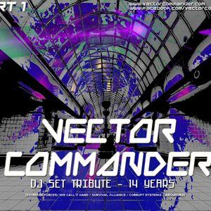 Dj Alex Strunz @ Vector Commander Tribute Set 14 years - Part 01 - 2016