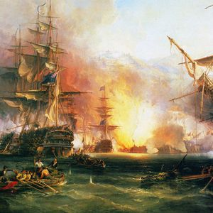 Da Tilts Bombardement Of Algiers