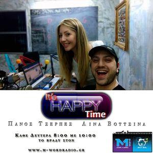 16. May. 2016  It's Happy Time Πάνος & Λίνα κάθε Δευτέρα 8-10μμ @M-Word Web Radio