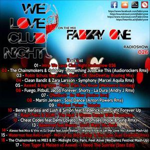 We Love Club Night 026 - Fabbry One @ RadioShow2017