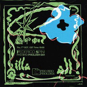 "Pho Bho Pholder 01: ""Liquid Savana"" with Federico Spini 07.10.21"