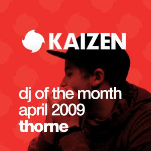 DJ of the Month April 2009 - Thorne