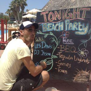 Beach party - Les Davis Live set(21st june 2012)