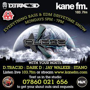 Audio Nights Everything Bass & Edm Show on Kane Fm  -  17th September 2012