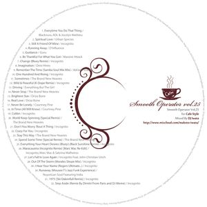 Smooth Operator Vol,25 Cafe Style