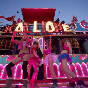 Admiral Fiesta - Hot Pink Party with Kalliope at Camp Walter - Burning Man 2014