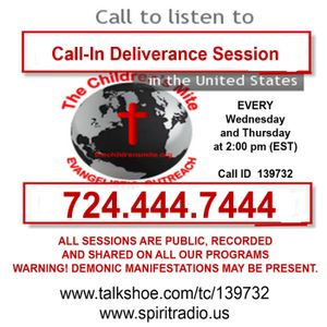 EPISODE 89 - Weekly Deliverance Sessions 03-03-16
