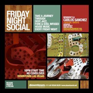 Carlos Sanchez Live @ Friday Night Social_6-8-12_part 1
