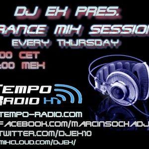 DJ Ex pres.Trance Mix Sessions ep.088 (07-04-2016) www.tempo-radio.com