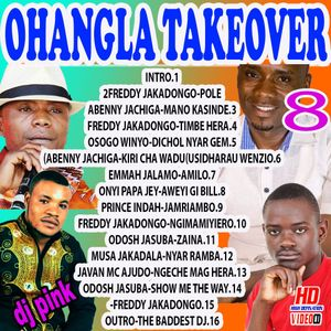 Dj Pink The Baddest - Ohangla Takeover Vol 8 by DJ PINK THE