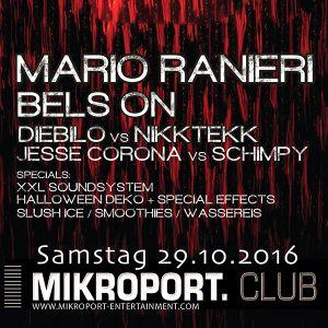 Mario Ranieri @ Mikroport Club, Krefeld, Germany 29.10.2016