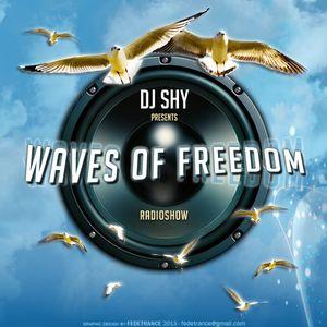 DJ SHY Presents WAVES OF FREEDOM 183 - May 2013