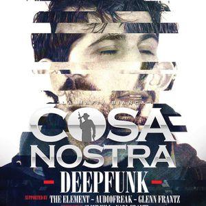 Deepfunk @ Cosa Nostra ft. James Teej & Deepfunk - 14.04.2013