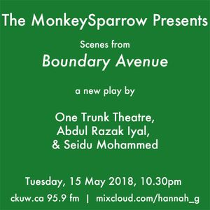 Scenes from 'Boundary Avenue' - One Trunk Theatre, Abdul Razak Iyal, & Seidu Mohammed