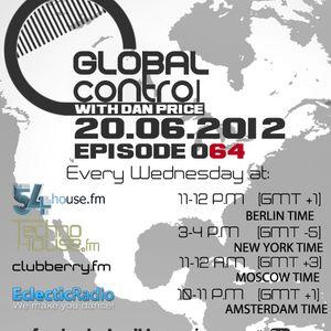 Dan Price - Global Control Episode 064 (20.06.12)