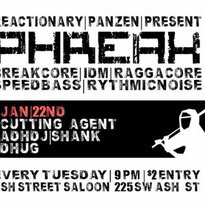 Dhug! Live @ PHREAK a weekly in Portland, OR USA by Reactionary and PanZen on Jan 22nd 2013 @ Ash St
