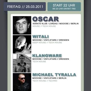 LIVE RECORDED: 25.03.11 - Oscar@Koralle Dresden