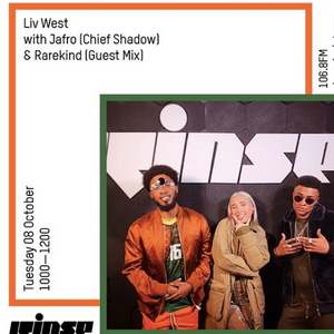 Liv West x Jafro (Chief Shadow) x Guest Mix by Rarekind