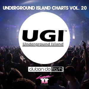 Underground Island Charts Vol. 020 by Duben De Fresh Oct 2015