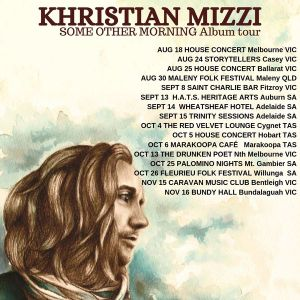 KHRISTIAN MIZZI - CONNECTING TO PEOPLE THROUGH INTIMATE SONG...