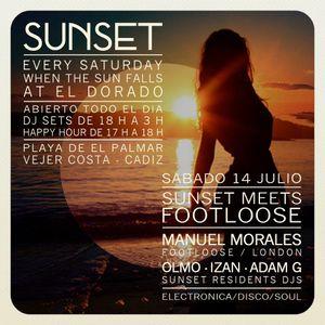 Manuel Morales - Sunset meets Footloose @ El Dorado 15-07-2012