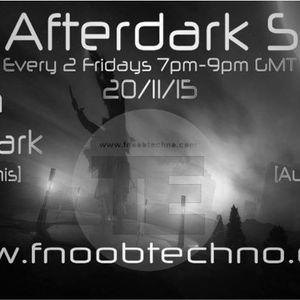 Noisy @ Afterdark ShowFnoob Techno RadioNov.2015